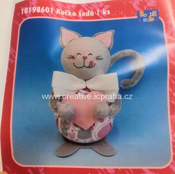 skládačka Kočka šedá 10198601