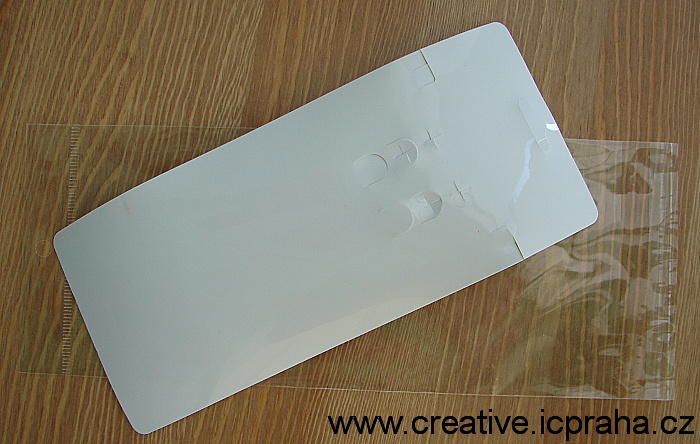 kartička+sáček na bižuterii (8,3x19,3cm)