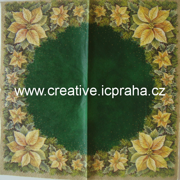 m-poisentia rámeček zelená