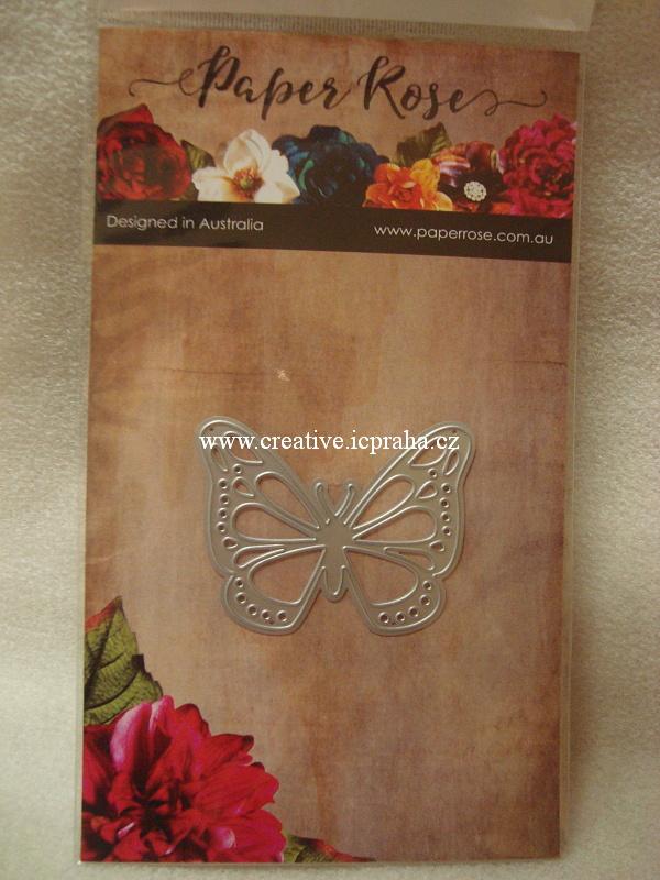 vyřezávací šablona  Paperrose - Motýl