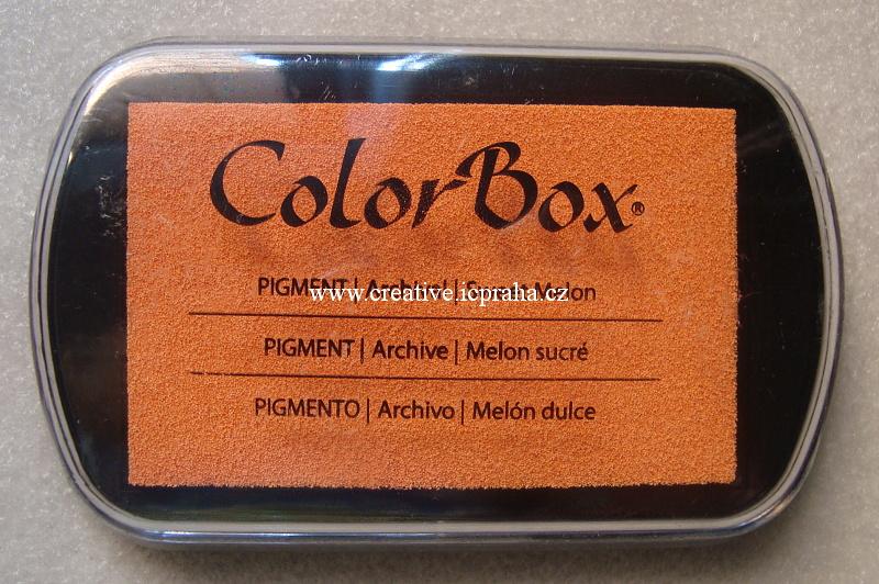 Color Box velký - oranž/swt. melon