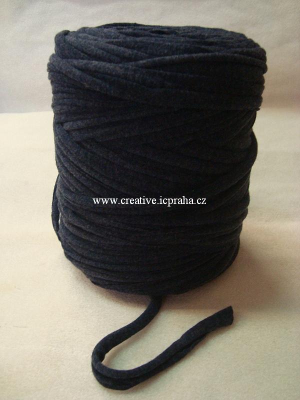 Noodle 120m - černá antracit 8012024