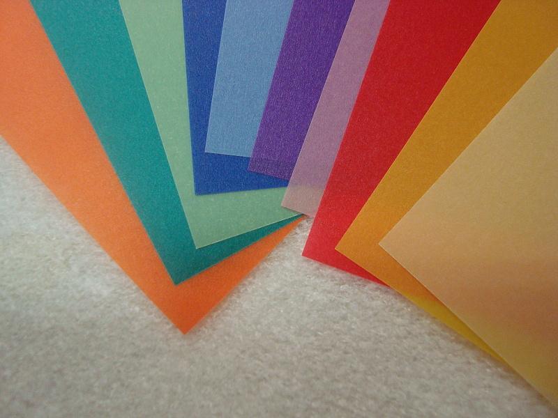 transp.papír A4 115g/m2 -  barvy F87409