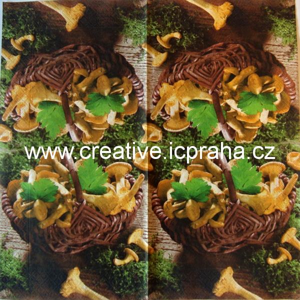 houby v košíku  PAPER+DESIGN