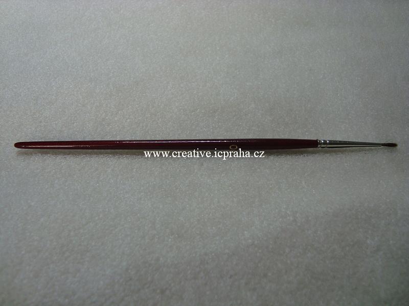 štětec veverka kulatý č.0/992