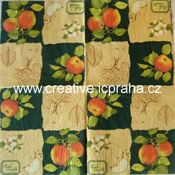 jablko, jabloň, květ  DECORATA