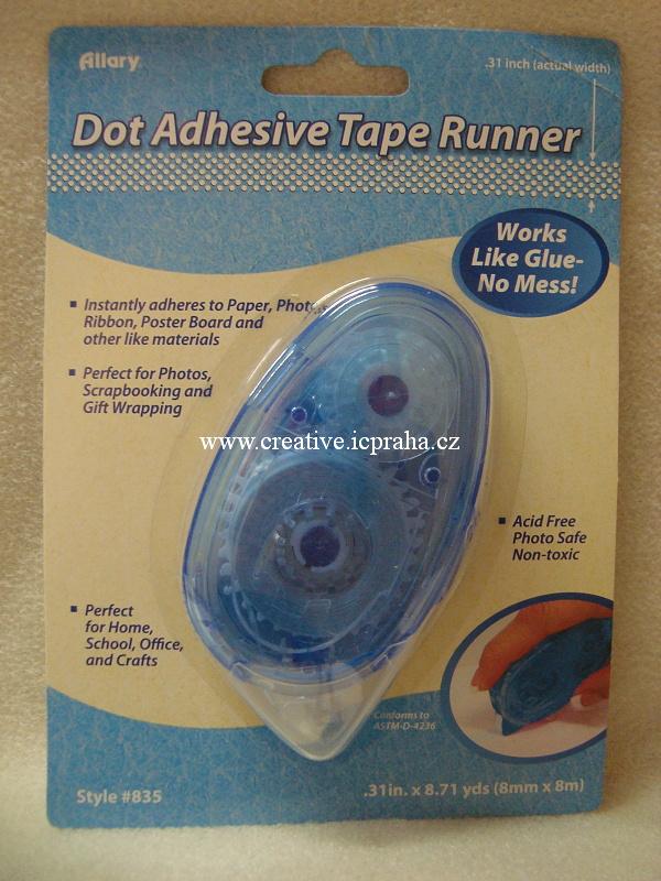 Roller lepící páska - 8mmx8m Allary Transparent