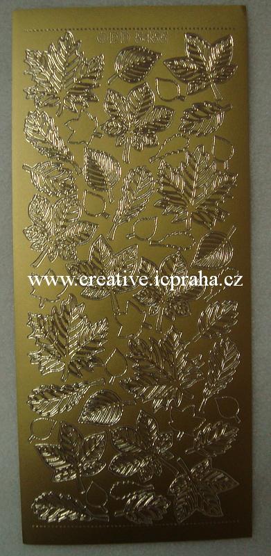 listy zlaté 840008A