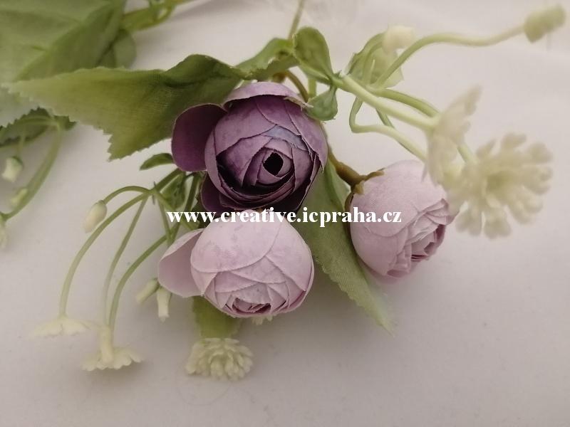 kamélie fial větv. -  květ 2cm