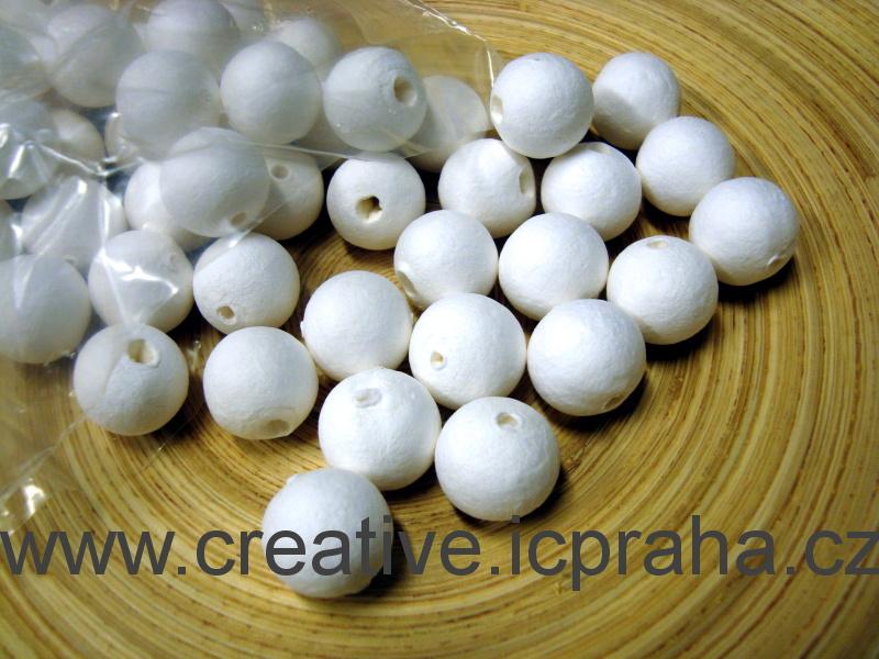 kuličky vatové - bílé 2cm bal. 50ks 41000350