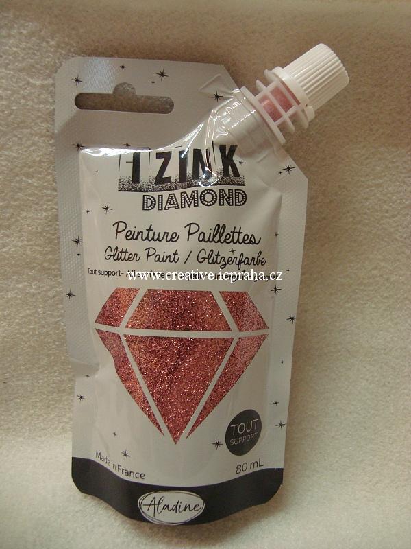 Diamantová barva - 80ml Rose Poudre 80828