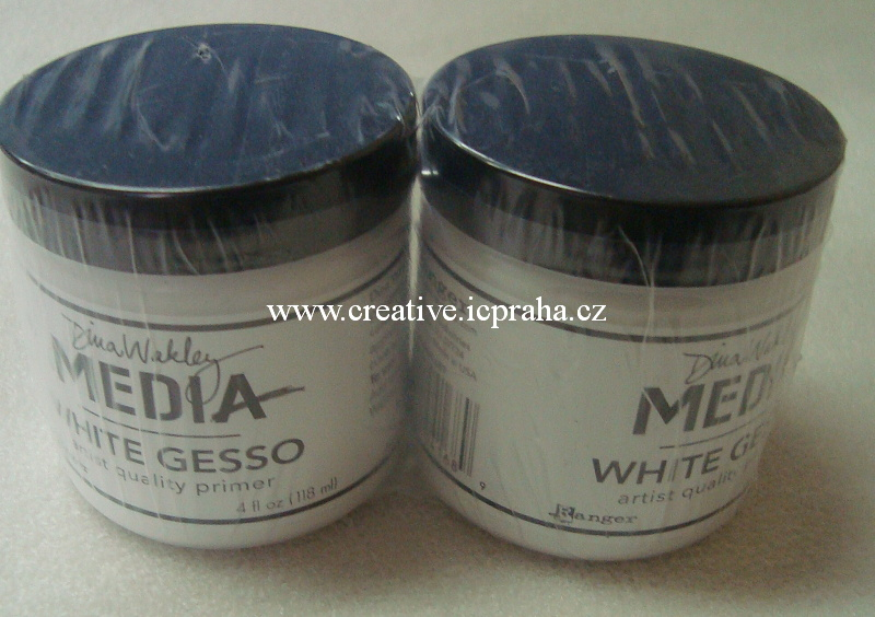 Gesso bílé 118ml - medium