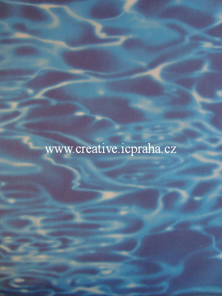 transp.papír 23x33cm - voda  83403/SLEVA