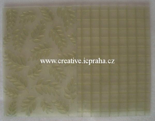 textura - listy a mozaika Sculpey - sada 2ks
