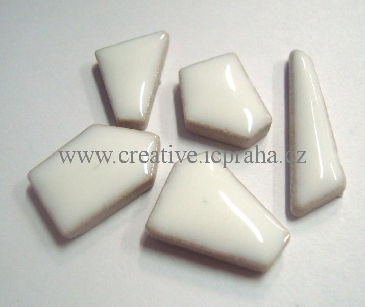 mozaika Flip MINI Ceramic cca250g FM10b bílá