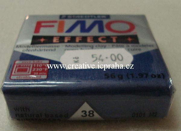 FIMO effect metallic safír 38
