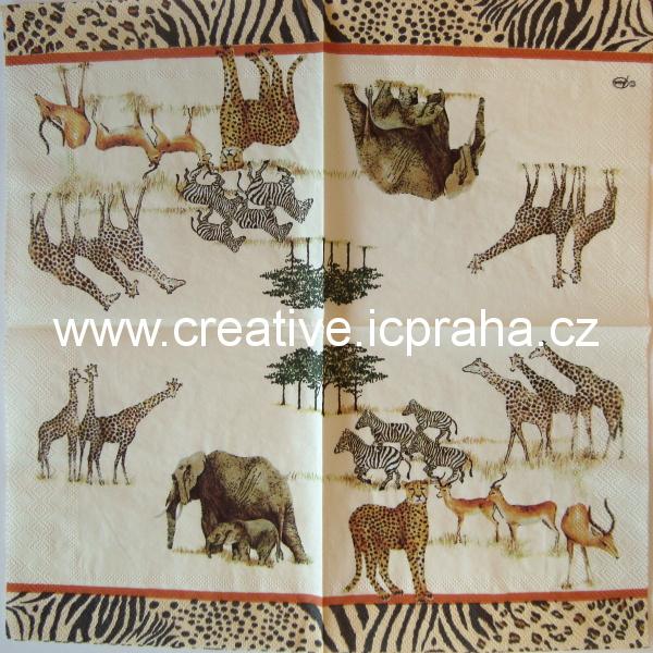 safari - zvířata AMB 2810