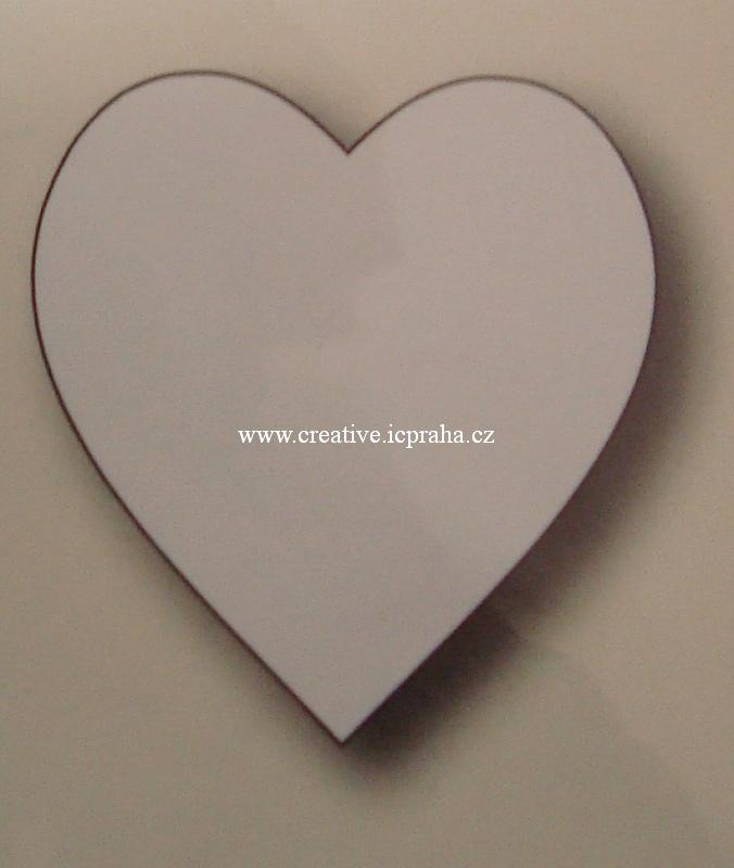 vyřezávací šablona  Memory Box - Srdce