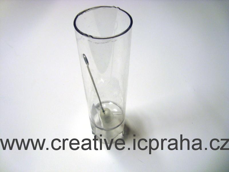 forma válec se špičkou prum.4cm,v 12cm