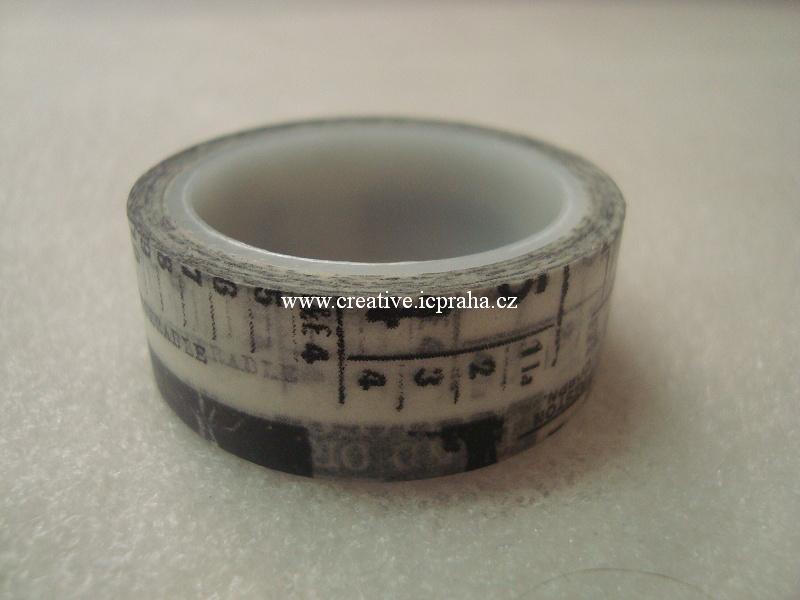 Washi páska 15mmx5m psaní