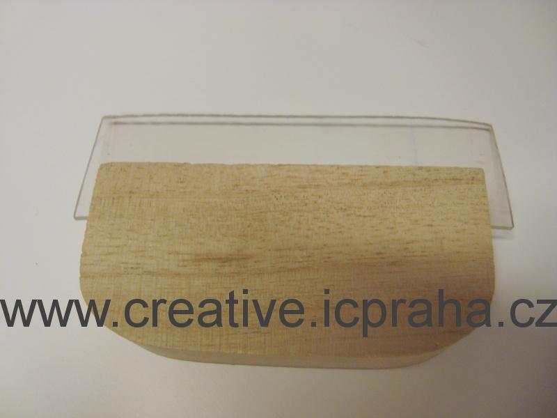 stěrka s dřev.rukojetí 10cm 89-375-00