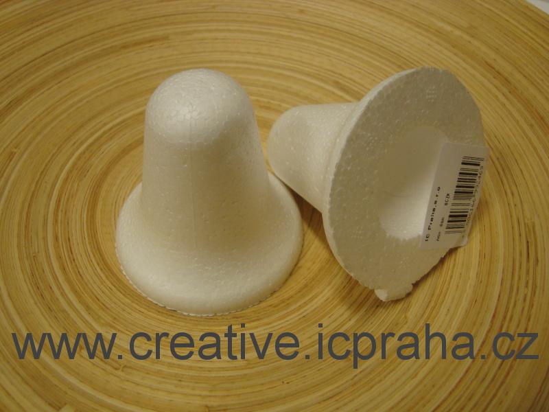 polystyren - zvon  v.6cm