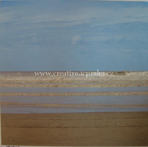 papír moře 78222000 30.5x30.5cm