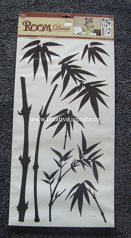 samolepka pokojová - bambus