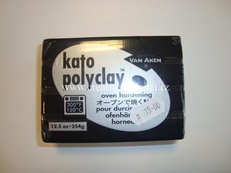 KATO Polyclay černá 354g M0097
