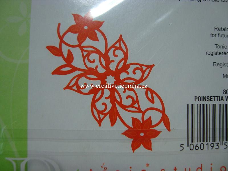vyřezávací šablona  Triplits motýlci 659596 13nožů