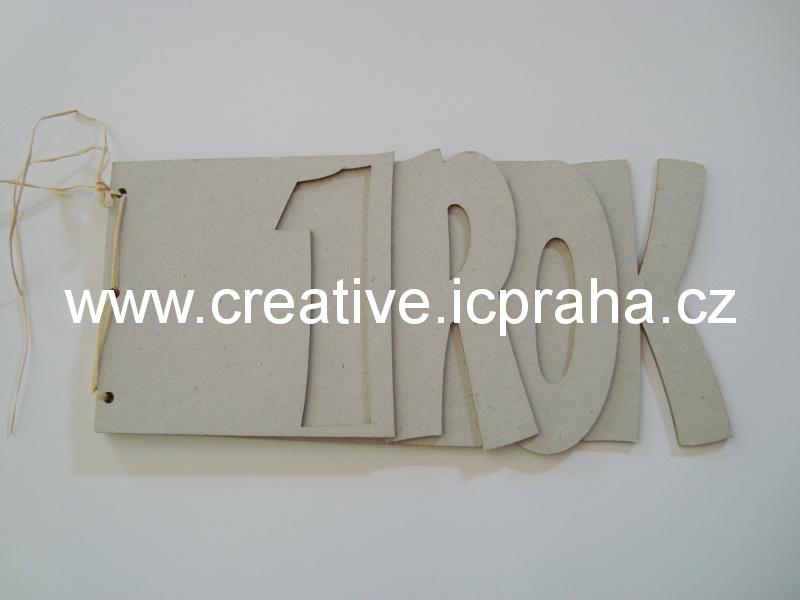 Minialbum - 4 listy - 1 ROK 29,5x15,6cm