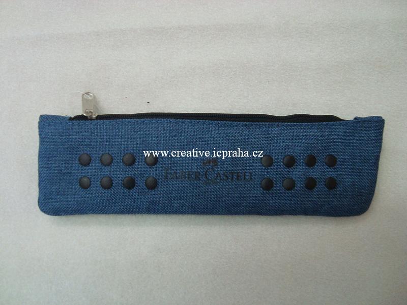 Pouzdro Grip 21x6cm -  modré