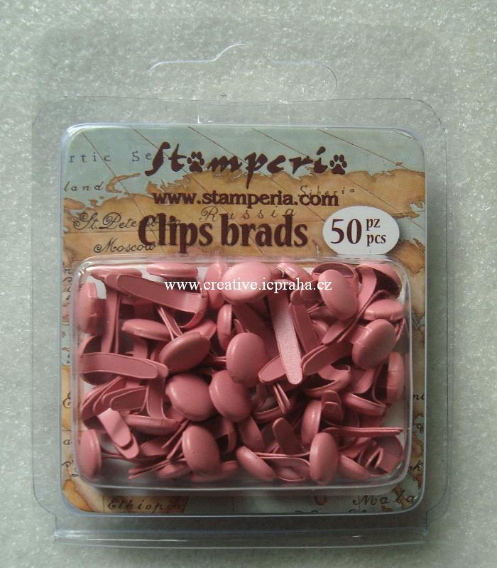 hřebíčky kulaté růžové - SBA75