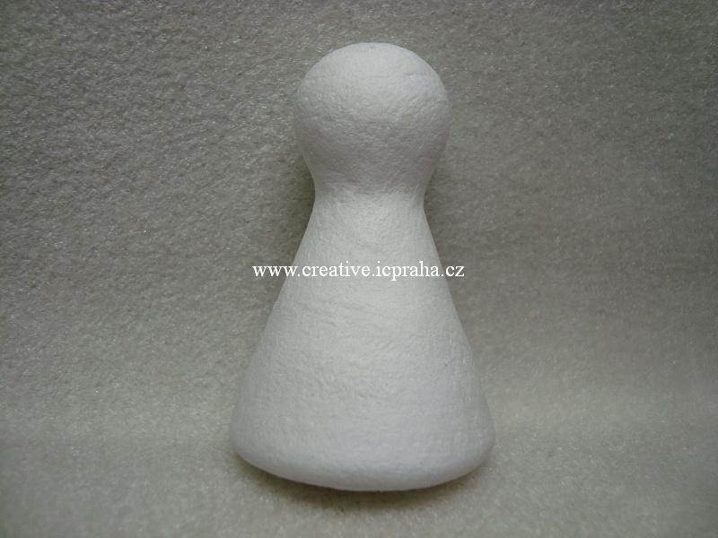 figurka/kuželka vatová 35x60mm 41002010