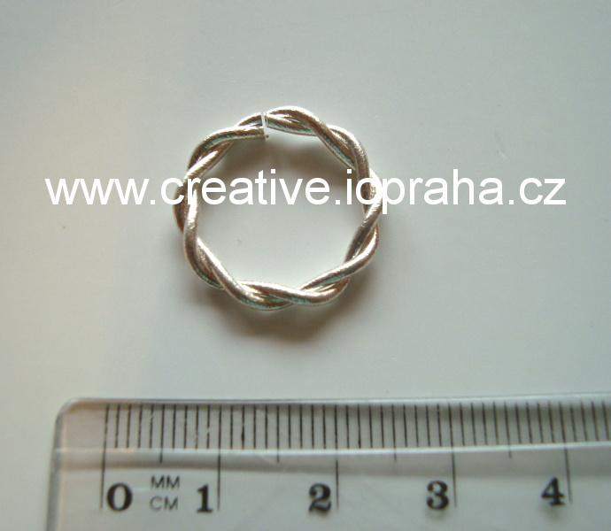 Spojovací kroužek kroucený 20mm
