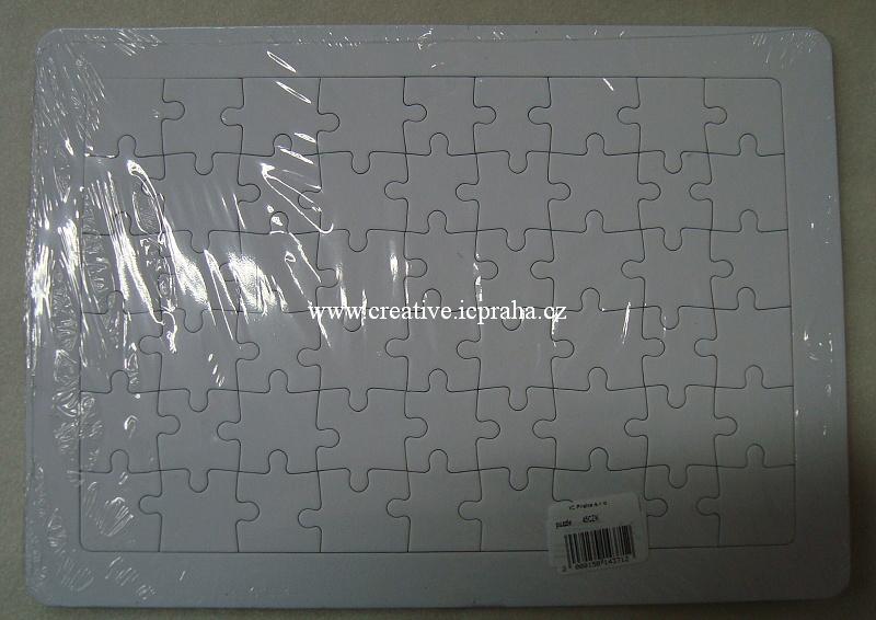 puzzle z lepenky 54 dilků