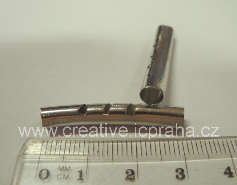 trubička oblouk s výřezy 33mm