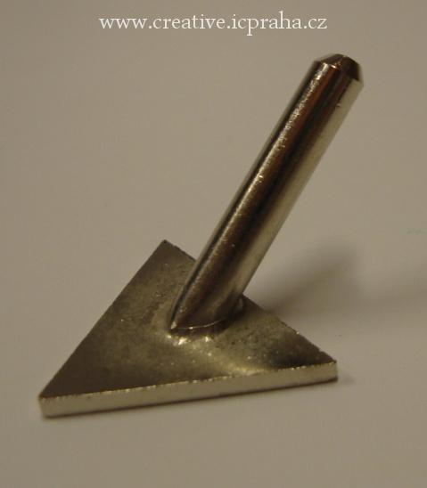 násadka - trojúhelník díl C