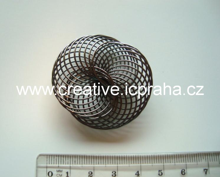 kolečko spirálové 40mm antracit