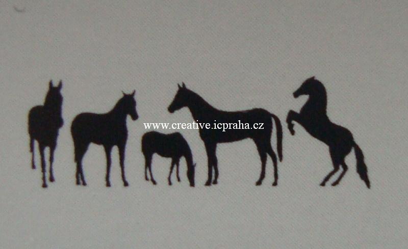 samolepka pokojová - koně Ry7104501