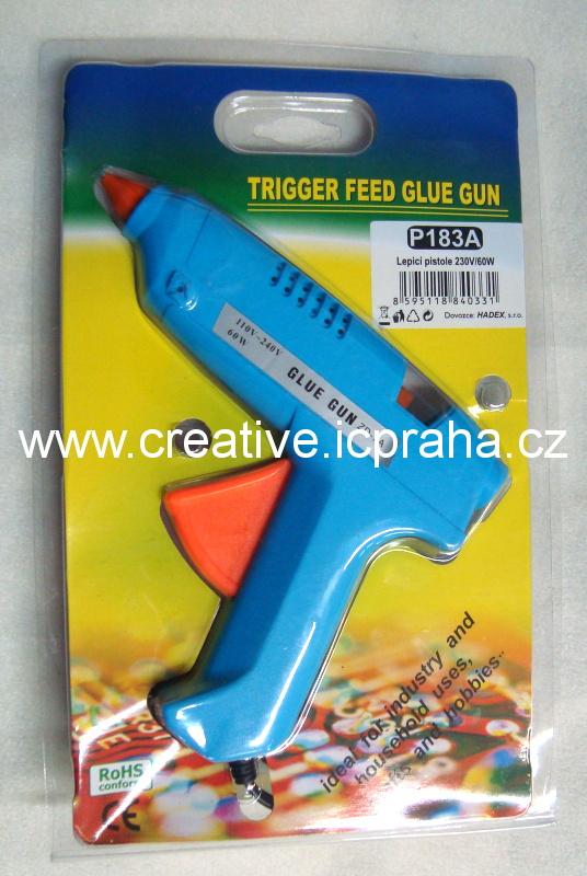 tavná pistole velká modrá 60W