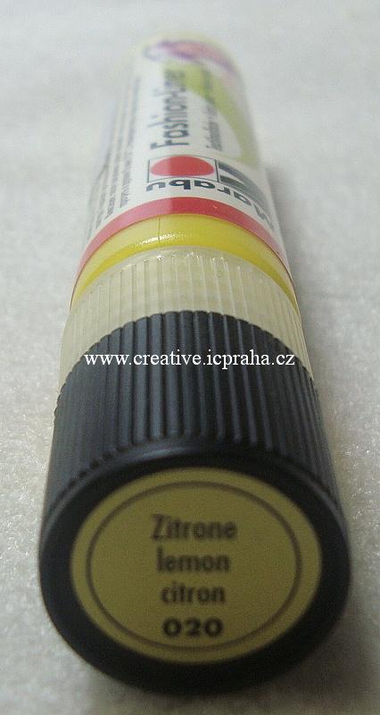 Fashion liner - citronová 020 25ml