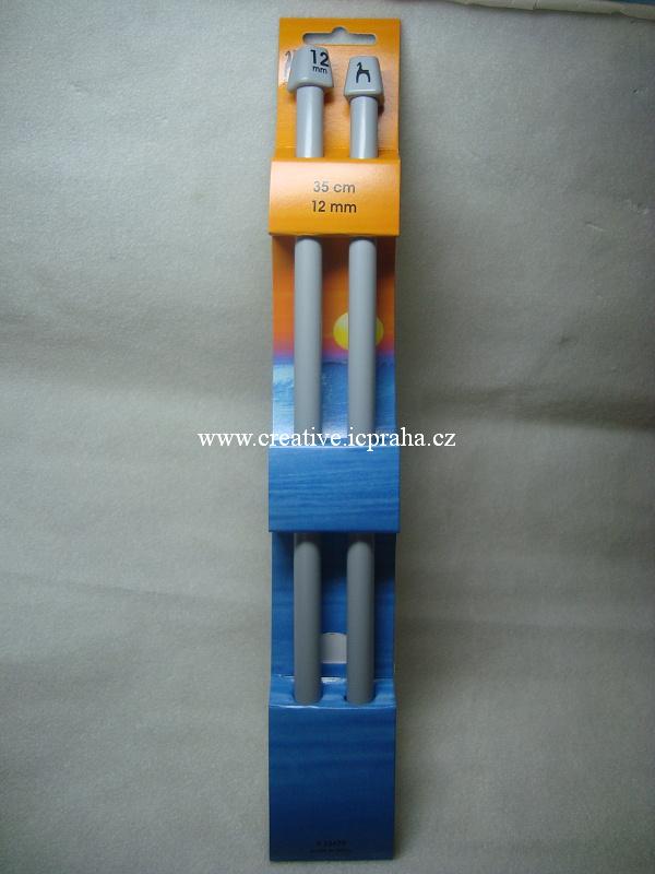 jehlice č.12 plastové, délka 35cm