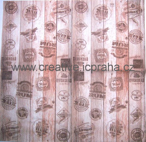 razítka na dřevě HF