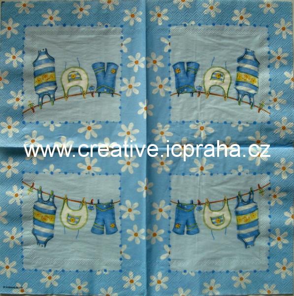 d-dětské prádlo v modré AMB 4960