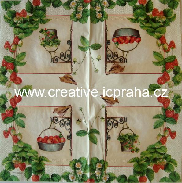 ovoce v závěsných květináčích AMB4285