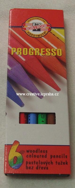 pastelky Koh-i-noor/ Progresso 6 barev