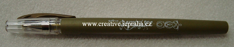 Gelové pero zlaté 379120
