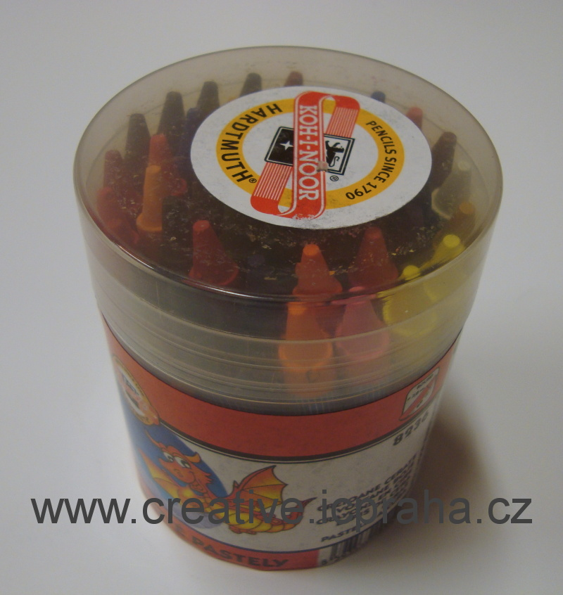 voskovky 8236/48ks  plast.tubus