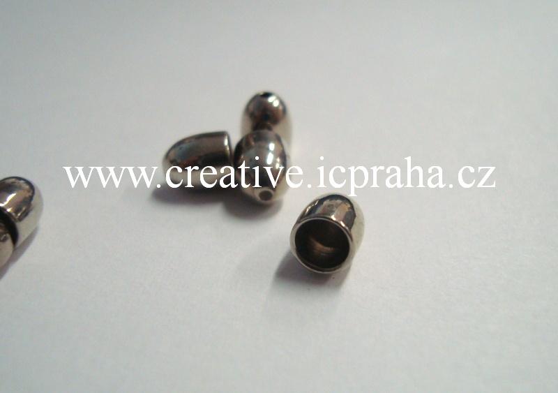 Koncovka pro kulaté šňůrky prům.4mm